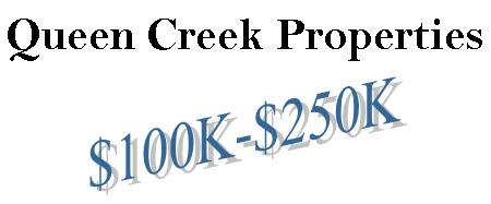 Queen Creek Homes from the $100's