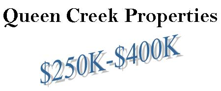 Queen Creek Homes from the $250's