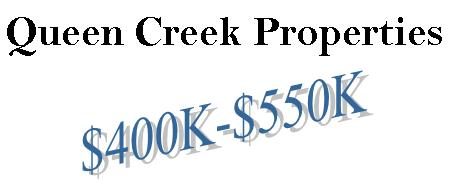 Queen Creek Homes from the $400's