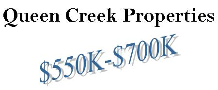 Queen Creek Homes from the $550's