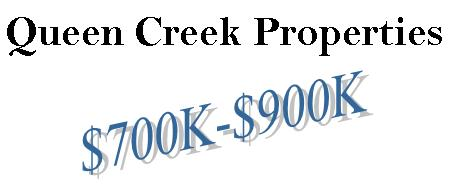Queen Creek Homes from the $700's